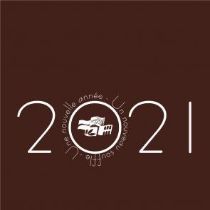 Visuel vidéo voeux 2021