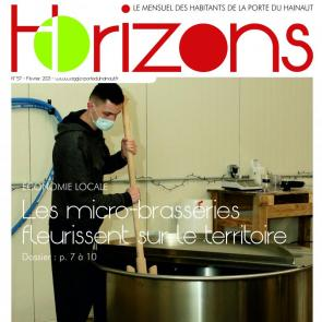 Couverture Horizons n°57