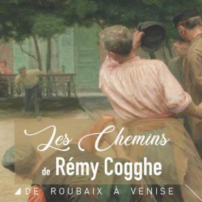 affiche expo Rémy Cogghe